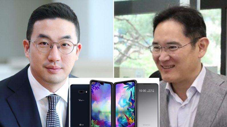 [좌] 구광모 LG 그룹 회장 [우] 이재용 삼성전자 부회장 | 연합뉴스