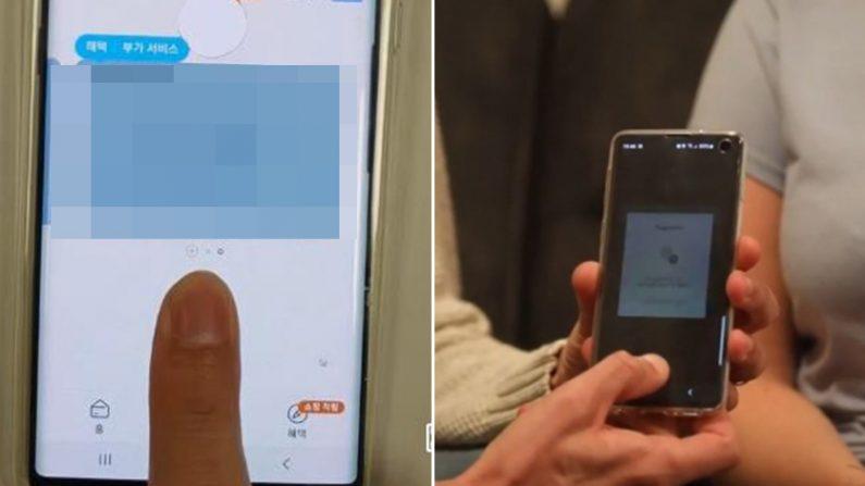 [좌] 제보자 동영상 화면 캡처 [우] 더 썬 화면 캡처