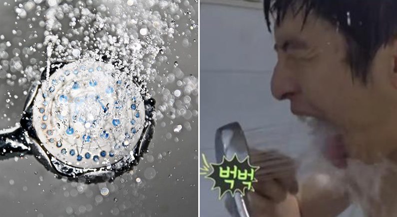 [좌]pixabay [우] 샤워기 꼭지로 입을 헹구는 기안84 | MBC '나 혼자 산다'