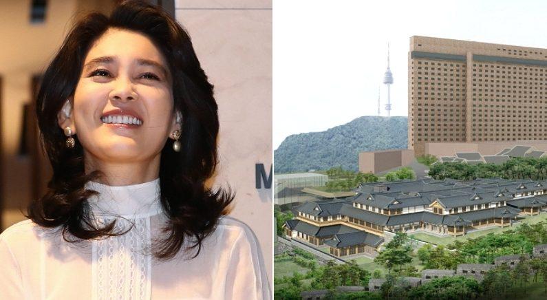 [좌] 연합뉴스, [우] 한옥호텔 예상 조감도 / 호텔신라