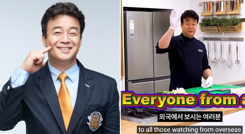 [좌] SBS '3대천왕', [우] YouTube '백종원의 요리비책'
