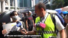 홍콩 시위, 그 격렬한 현장에 선 기자들