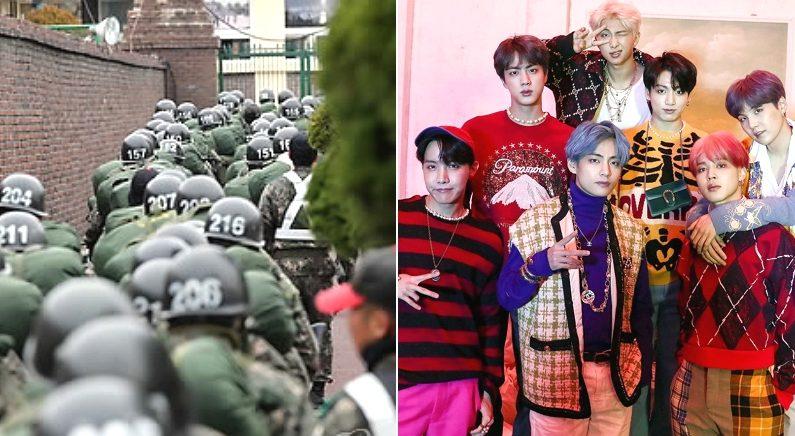 [좌] 연합뉴스, [우] 방탄소년단 공식 페이스북 페이지