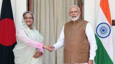 인도, 방글라데시와 경제 협력 협약 체결…중국 영향력 차단