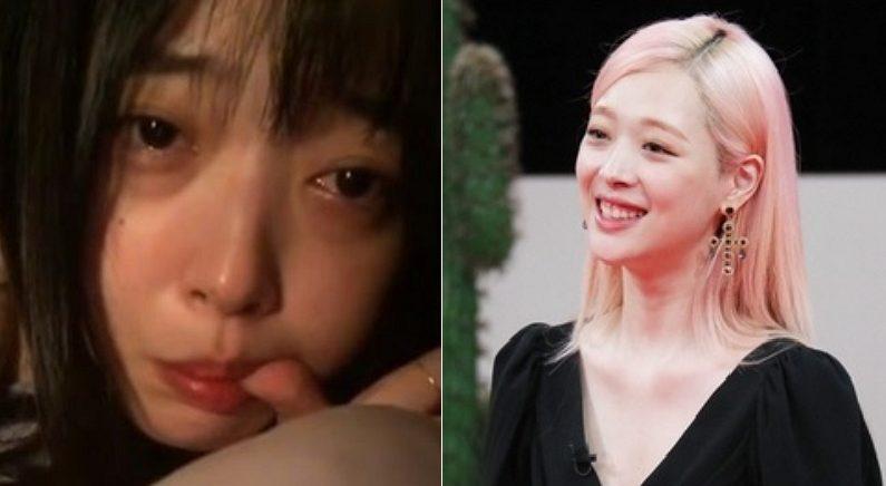 [좌] Instagram 'jelly_jilli', [우] JTBC '악플의 밤'