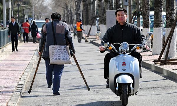 베이징 시내 풍경.   AFP/Getty Images