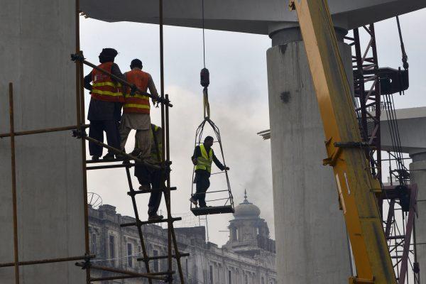 중국 기업의 건설현장 | Arif Ali/Getty Images