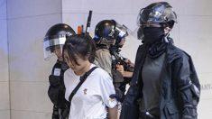 홍콩 직장인 '점심 시위' 현장서 진풍경…외국인 항의에 경찰 철수 (영상)
