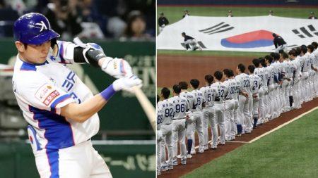 일본 심판 '편파 판정'에도 실력으로 '5-1' 대승 거둔 한국 야구대표팀