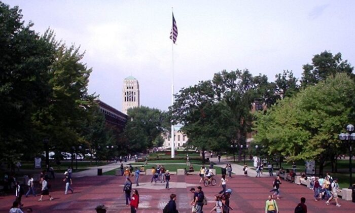 미시간 앤아버에 있는 미시간 대학교 캠퍼스. | public domain, Creative Commons Attribution-ShareAlike License via Wikimedia Commons