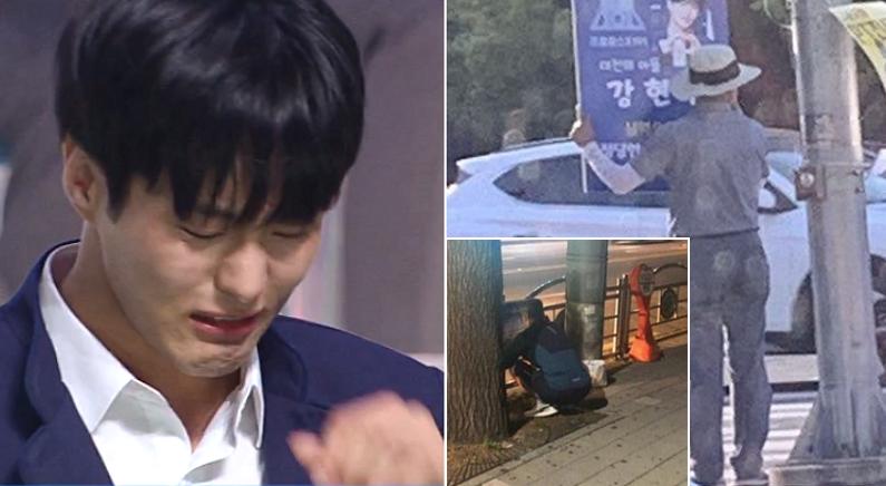 [좌] Mnet '프로듀스 X 101', [우] 온라인 커뮤니티