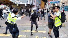 홍콩 경찰, 또 시위대에 실탄 발사…1명 위독