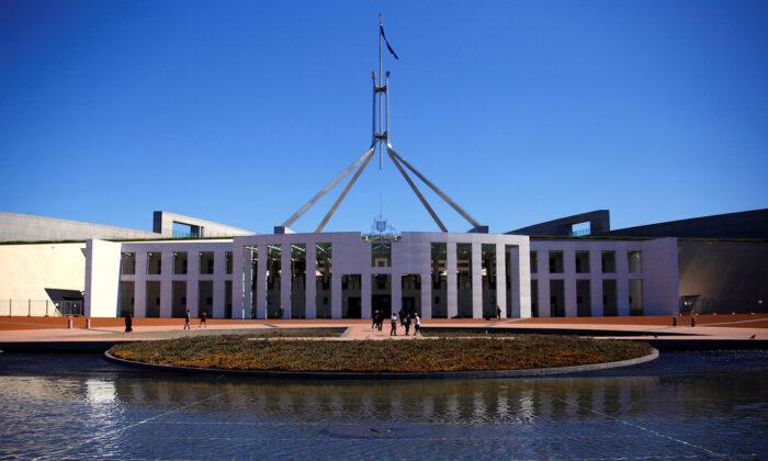 호주 캔버라 의회 의사당 2017. 10. 16   REUTERS/David Gray/File Photo=Yonhapnews(연합뉴스)