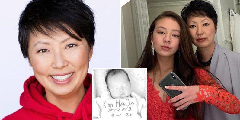 에이미 앤더슨(왼쪽·한국명 김희자)과 딸 | 아동권리보장원 제공
