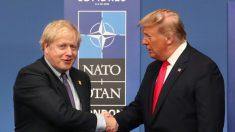 """트럼프 """"英 총선 존슨 보수당 승리 축하""""…새 무역협정 체결 의사 내비쳐"""