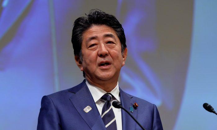 아베 신조 일본 총리 | Mark Runnacles/Getty Images