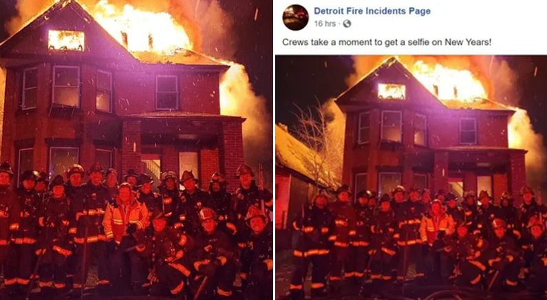 Facebook 'Detroit Fire Incidents Page'
