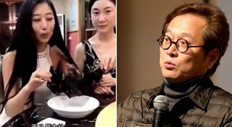 [좌] 왕멍원 웨이보 동영상 캡처 [우] 뉴스1