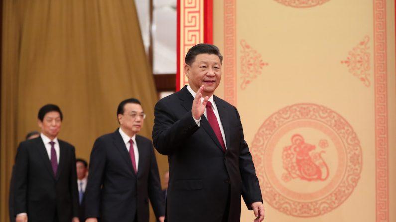 지난 23일 춘제 단배식에 참석한 시진핑 | 신화=연합뉴스