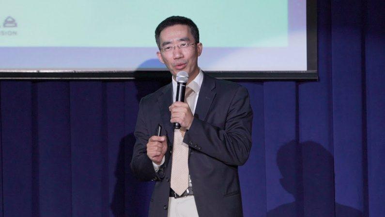 '시사논단 결전 2020'에서 발언하는 중국문제 전문가 장톈량(章天亮) | 에포크타임스