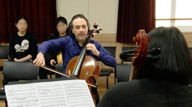 세계 유명음대 교수들, 제주 함덕고서 국내 음악 전공생들과 '사제의 연'