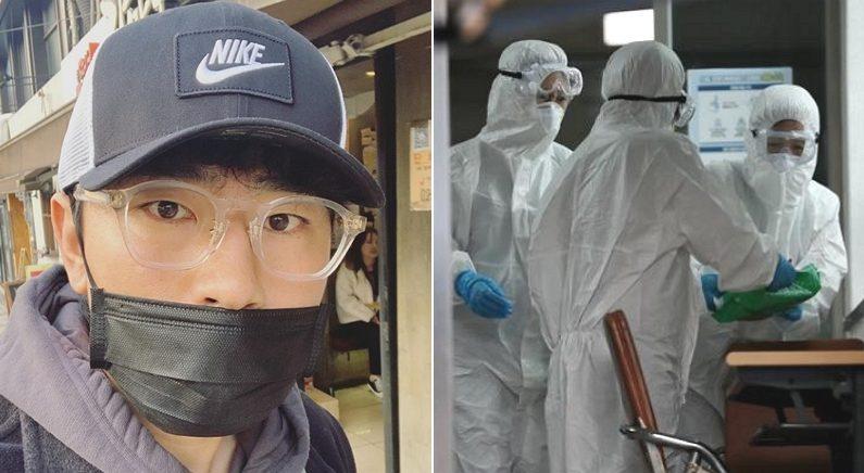 [좌] Instagram 'lee_si_eon', [우] 선별보건소 의료진 / 연합뉴스