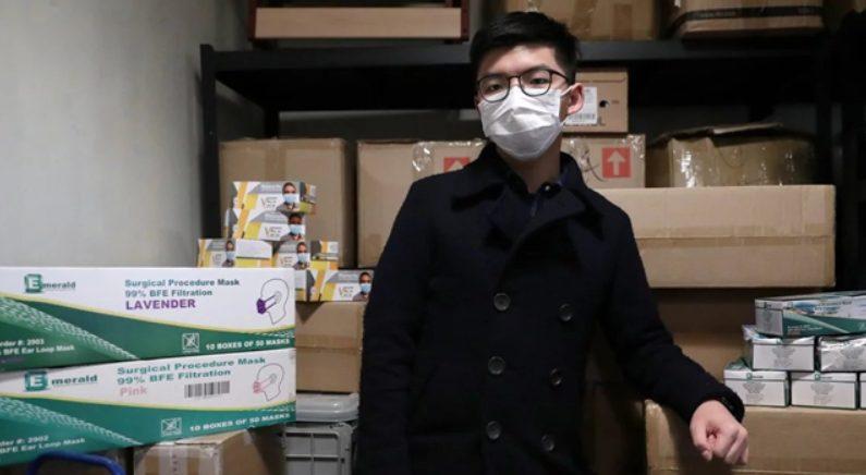 홍콩 민주화 운동가 조슈아 웡 | 다이얼로그차이나 한국대표부 제공