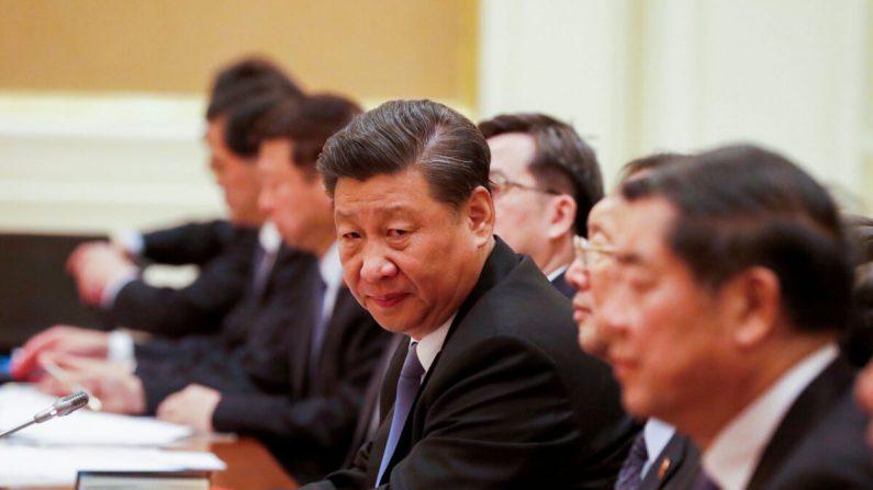 사진은 미얀마와의 회담에 참석한 시진핑 중국 공산당 총서기의 모습 2020. 1. 18. | AFP=연합뉴스
