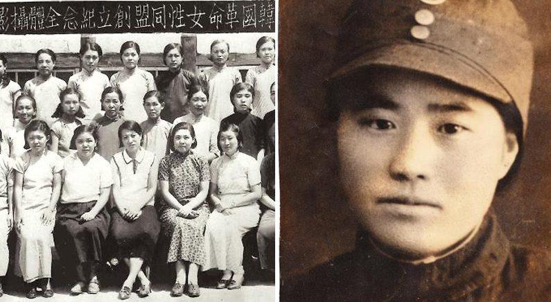[좌] 한국혁명여성동맹 창립 기념사진 | 임시정부 기념사업회 [우] 연합뉴스