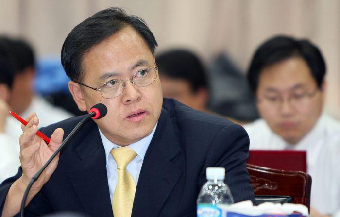 국정감사에서 질의하는 이명수 의원 | 연합뉴스