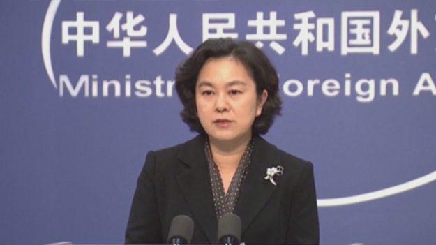 """中 공산당 외교부 대변인 """"중국인은 왜 페북·트위터 못 쓰나"""" 발언 논란"""