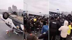 후베이성 봉쇄 해제…주민들, 이웃 지역 경찰에 격렬 항의
