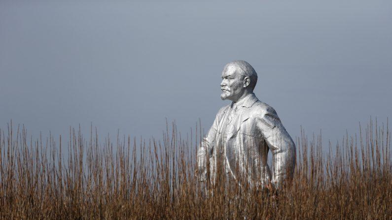 사진은 독일에 세워지는 레닌상과 관련 없음. 러시아 스타브로폴 지역에 세워진 레닌상. | 로이터=연합뉴스