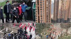 중국 부총리, 우한 시찰하자 40일간 아파트에 갇혀 있던 주민들 항의