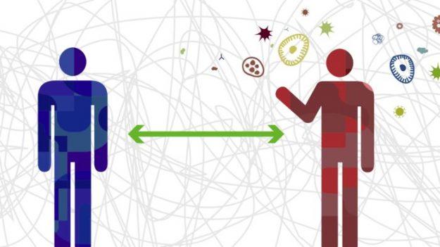 바이러스 방역을 위한 효과적 대책 '사회적 거리 두기'