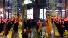 중국에서 보장하는 '종교의 자유' 현실 보여주는 영상