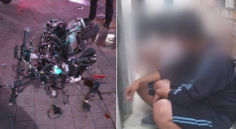 [좌] 사고 현장 / 뉴스1, [우] 기사와 관련 없는 자료 사진 / 연합뉴스