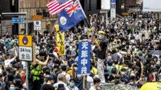 """홍콩서 국가보안법 추진 반대 대규모 시위 """"하늘이 중국 공산당 멸할 것"""""""
