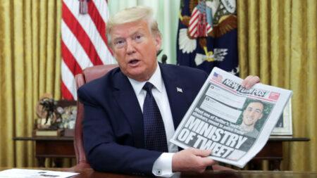 트럼프, 소셜미디어의 '정치적 편향성' 겨냥한 행정명령에 서명