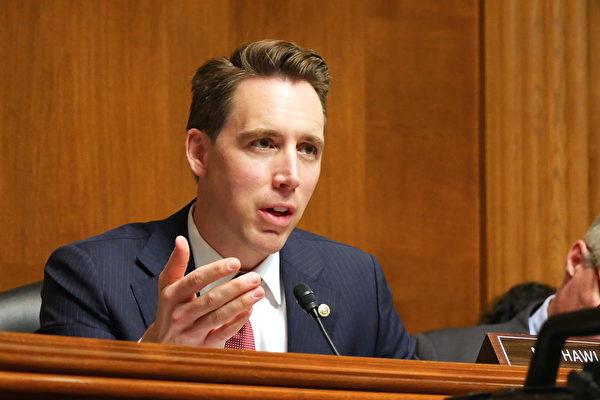미국 조시 하울리(Josh Hawley) 공화당 상원의원 | 사진=이진 기자/에포크타임스