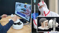 환자 접촉 없이 진단 검사할 수 있는 '원격 로봇' 개발한 국내 연구진