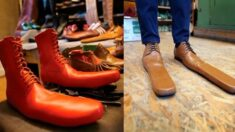신기만 해도 자동으로 '사회적 거리 두기'가 되는 신발 등장
