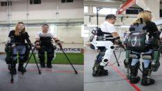 뺑소니 사고로 하반신 마비된 남성이 걸을 수 있도록 '로봇 슈트' 개발한 카이스트 연구진