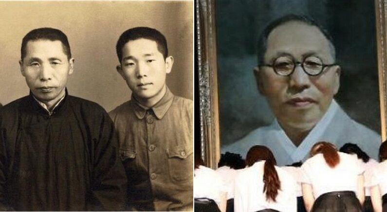 [좌] 김구 선생과 김신 전 공군참모총장 / 공군, [우] 연합뉴스