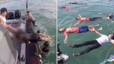 수영 전혀 못 해도 물에 빠졌을 때 기적처럼 생존할 수 있는 '자세'