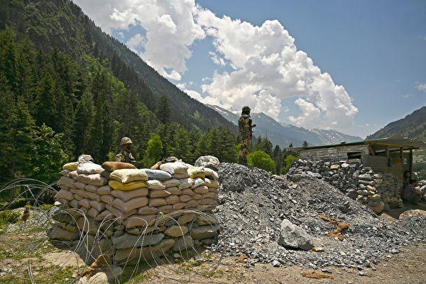 중국 인도 사이의 한 국경 초소 | TAUSEEF MUSTAFA/AFP via Getty Images