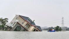 이재민 4천만 재산피해 14조…중국 재난현장서 공산당 지도부 실종