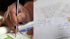 6·25 참전용사 후손에게 써달라며 1000달러와 손편지를 보낸 미국 교민 할머니