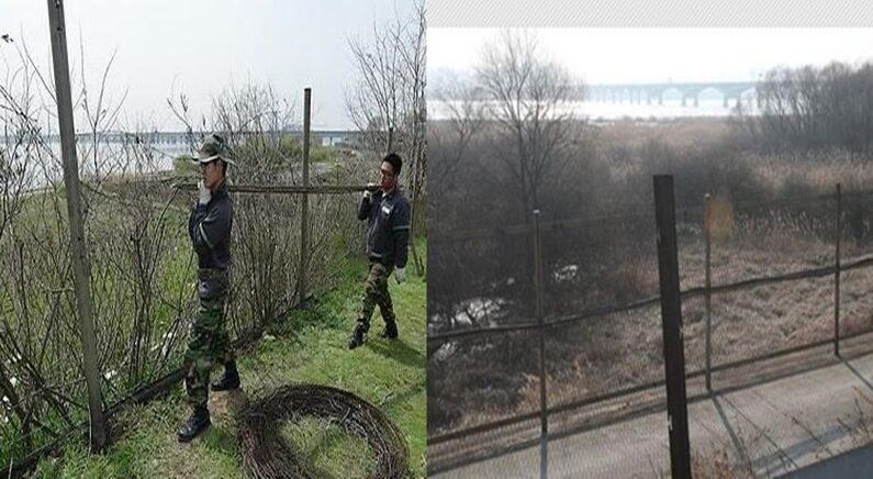 철책 사라지는 한강 하구/연합뉴스