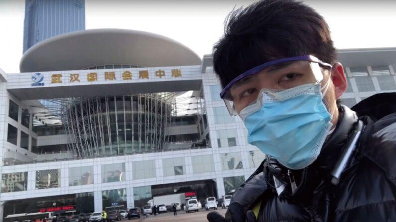 중국 후베이성 우한에서 당국의 코로나19 대응을 현장 취재했던 시민기자 천추스 | AP=연합뉴스